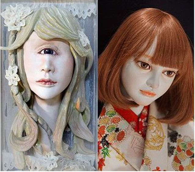 ヴァニラ画廊でシモン、ピグマリオン卒人形作家10人展、鈴雪、周ら ...