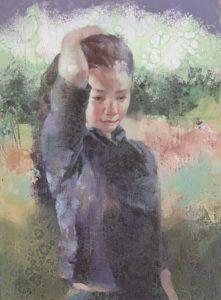 ギャラリーアートもりもとで9月14日から24日まで開かれる川端太さんの個展に展示される作品。