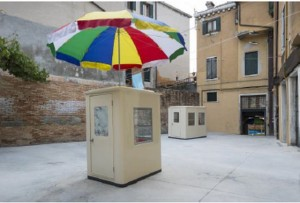 資生堂ギャラリーで6月2日から7月26日まで開催される李傑さんの個展に展示される「インスタレーション・オブ・ユー」。2013年にベネチア・ビエンナーレに展示されたインスタ(Photo by David Levene)。